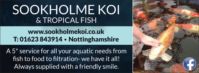 Sookholme Koi & Tropicals | Pets and Animals Directory Portal