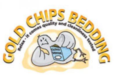 Gold Chips Bedding