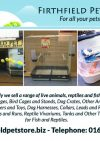 FirthField Pet Store