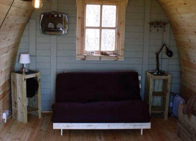 Bachwen Farm & Cottages - Inside Our Pods